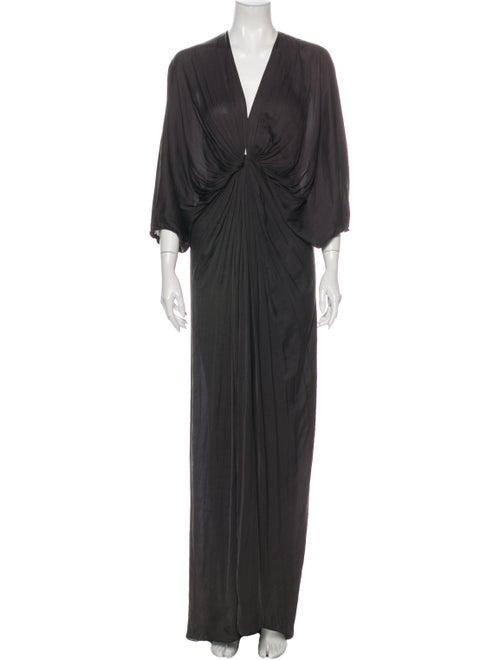Lanvin 2010 Long Dress Grey