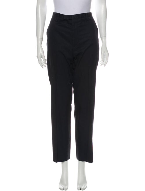 Lanvin Straight Leg Pants Blue