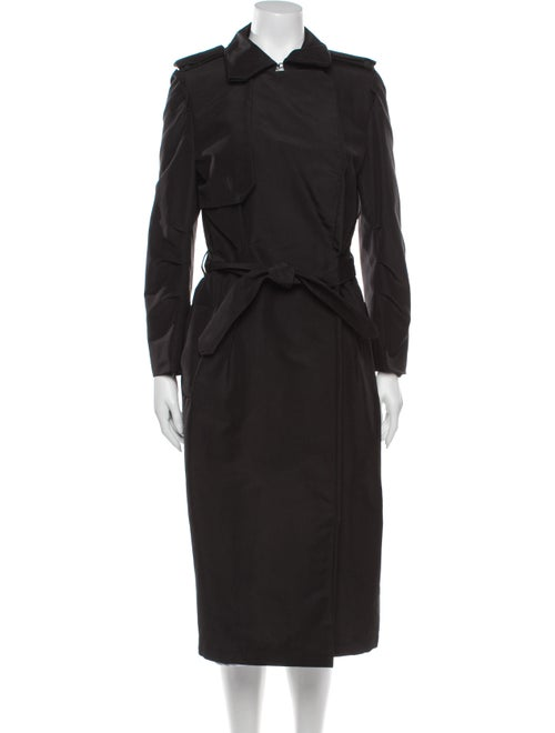 Lanvin Vintage 2008 Trench Coat Black