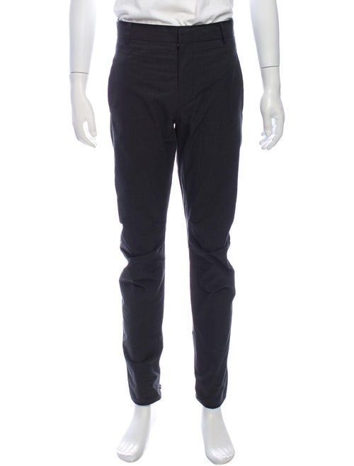 Lanvin Striped Pants Grey
