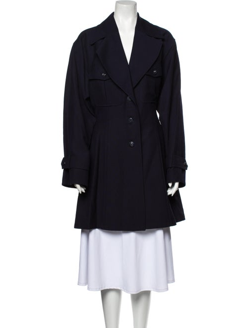 Lanvin Trench Coat Blue