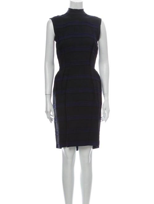 Lanvin Turtleneck Knee-Length Dress