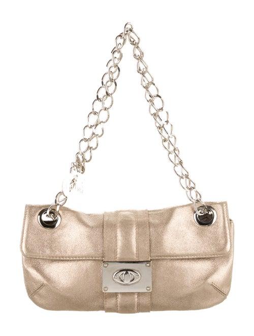 Lanvin Metallic Shoulder Bag Gold