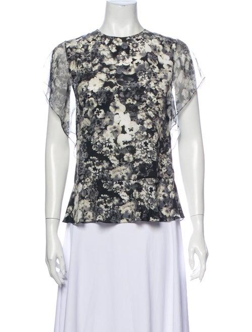 Lanvin 2016 Silk Blouse White