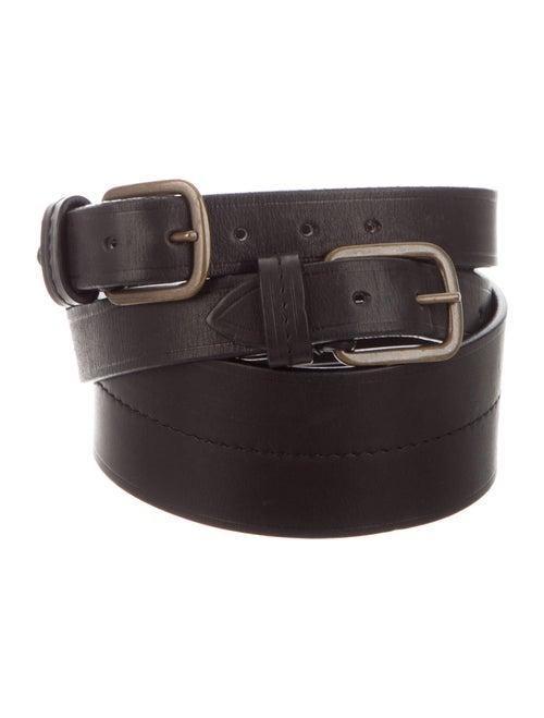 Lanvin Leather Belt Black