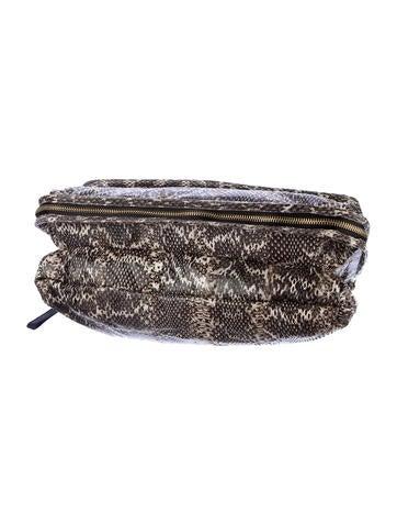 Snakeskin Shoulder Bag