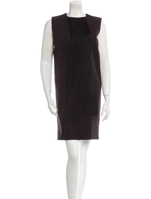 Lanvin Fringe Dress Black