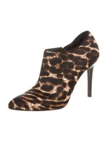 Leopard Print Booties w/ Tags