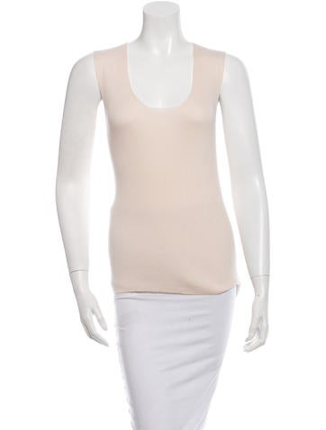 Lanvin Sleeveless Silk Top None