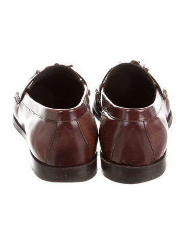Leather Tasseled Loafers