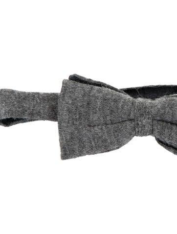 Baby Alpaca Knit Bow Tie w/ Tags