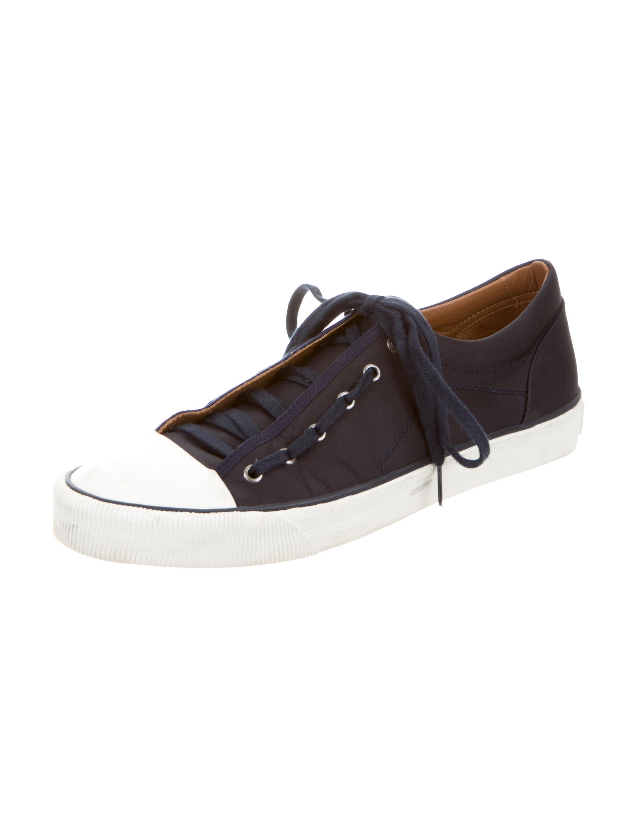 lanvin canvas low top sneakers shoes lan41339 the