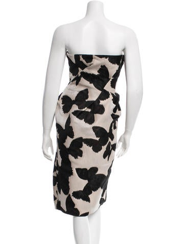 Butterfly Jacquard Cocktail Dress w/ Tags