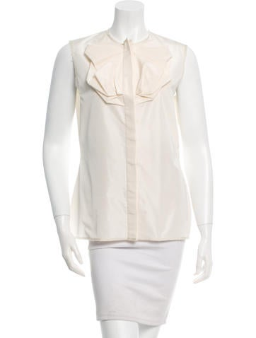 Lanvin Bow Sleeveless Top w/ Tags None