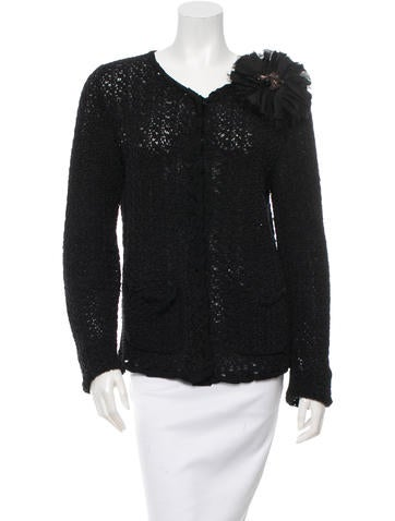 Lanvin Open Knit Jacket None