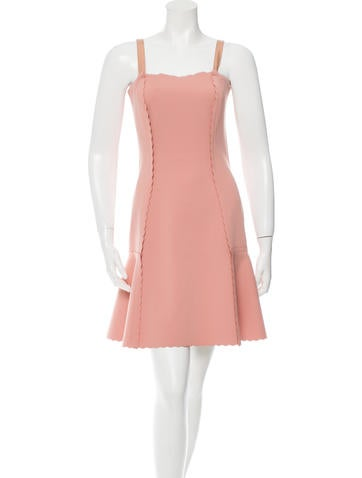 Lanvin Flared Mini Dress