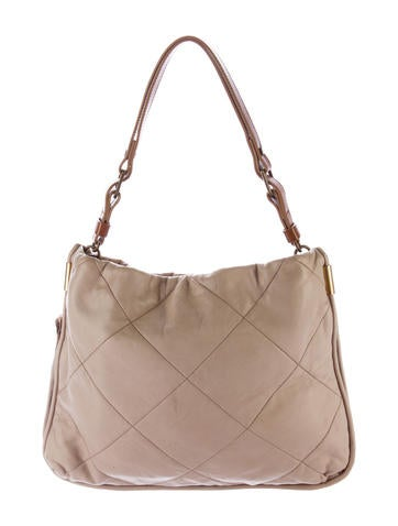 Quilted Leather Satchel