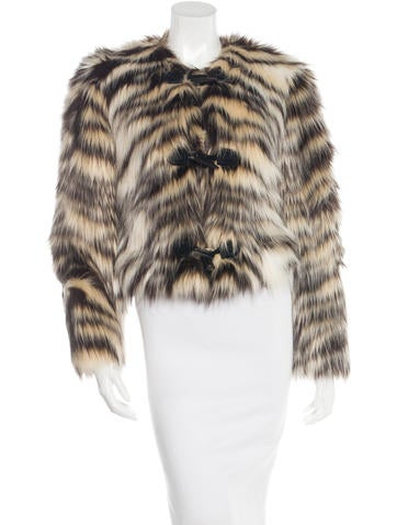 Winter 2015 Faux-Fur Jacket