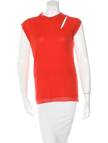 Lanvin Sleeveless Woven Top None