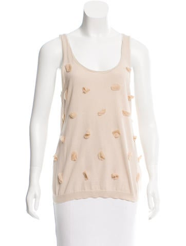 Lanvin Sleeveless Knit Top None
