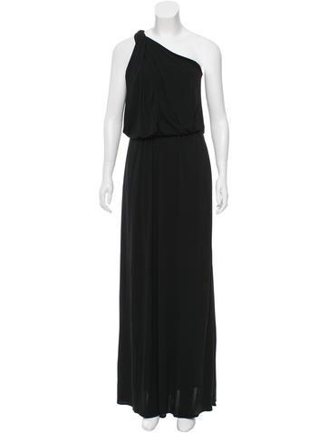Lanvin One-Shoulder Evening Dress w/ Tags