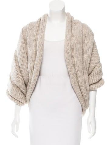 Lanvin Knit Oversize Shrug None