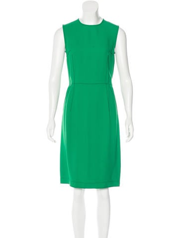 Lanvin Sleeveless Sheath Dress w/ Tags