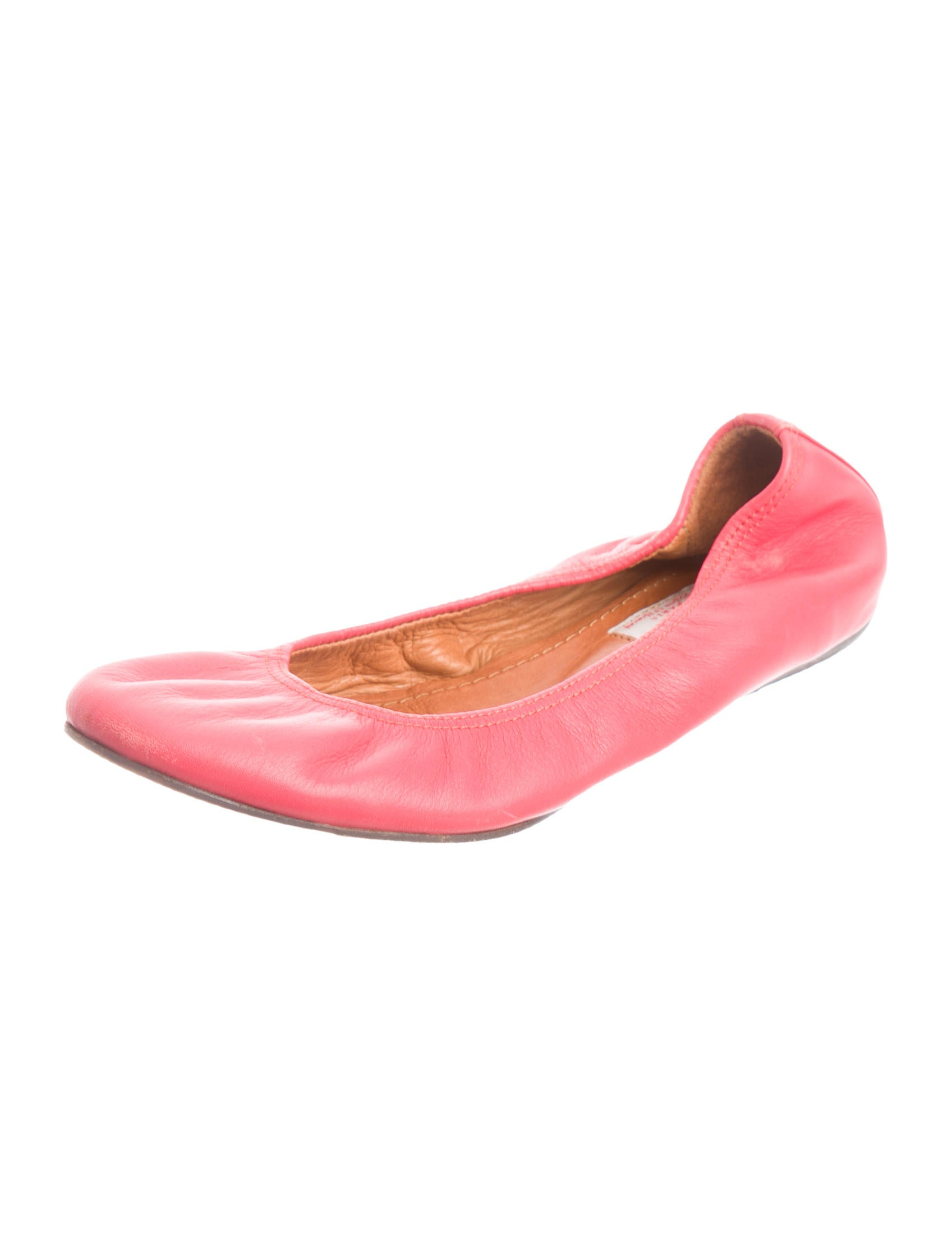 lanvin leather ballerina flats shoes lan51570 the
