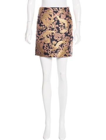 2015 Brocade Skirt