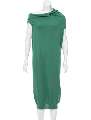 Lanvin Sleeveless Sweater Dress None