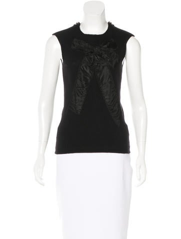 Lanvin Knit Sleeveless Top None