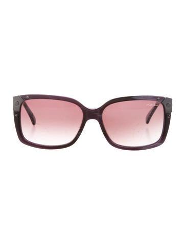 Lanvin versize Gradient Lens Sunglasses