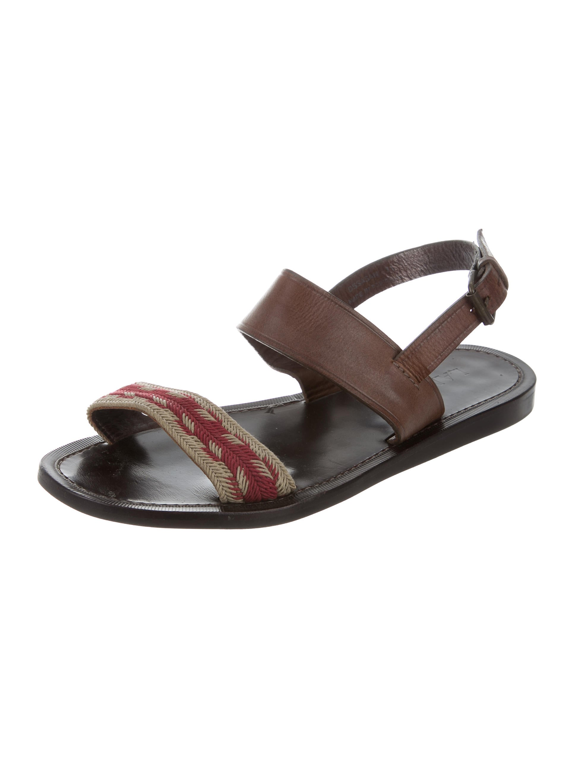 lanvin braided leather sandals shoes lan54690 the