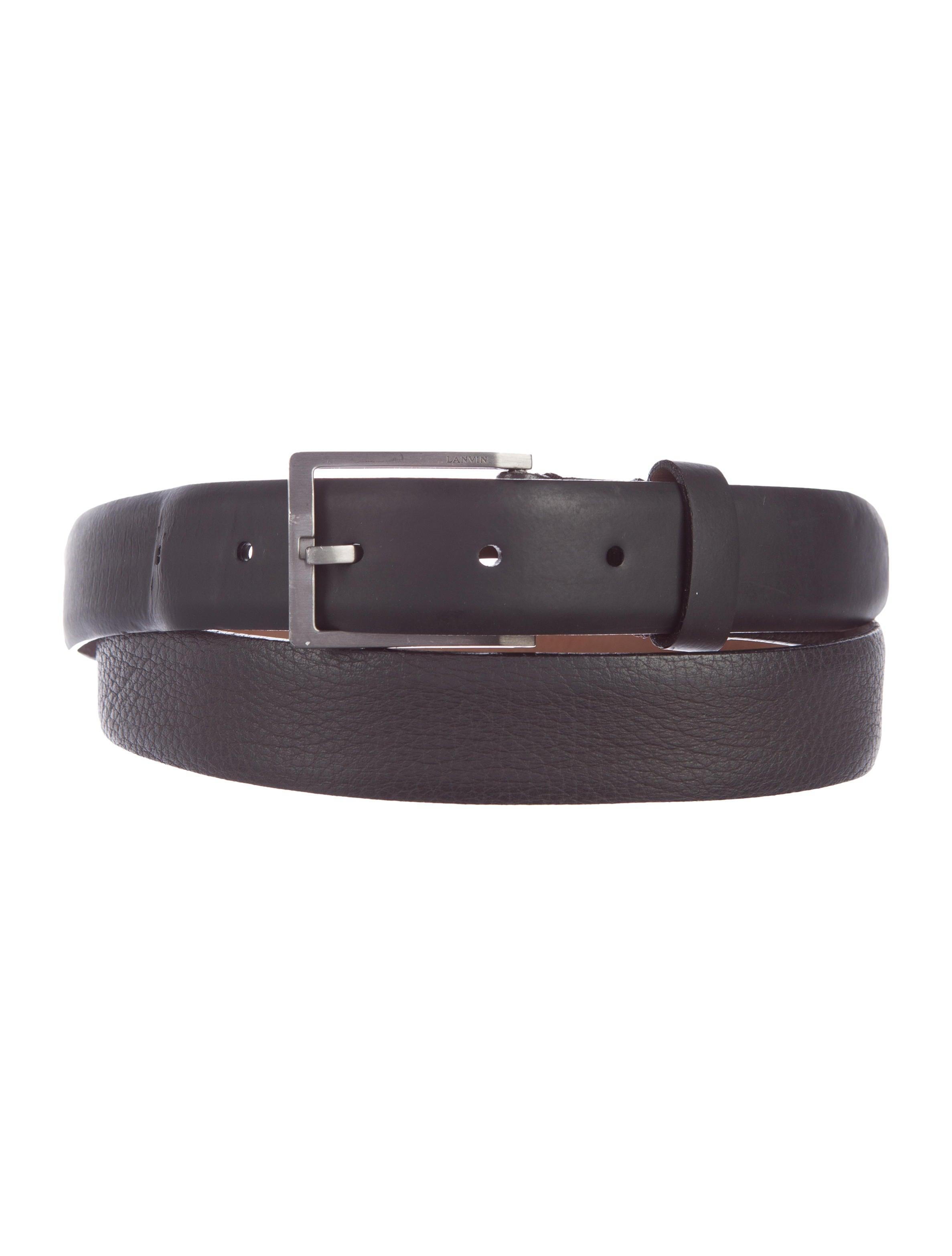 lanvin leather dress belt accessories lan54693 the