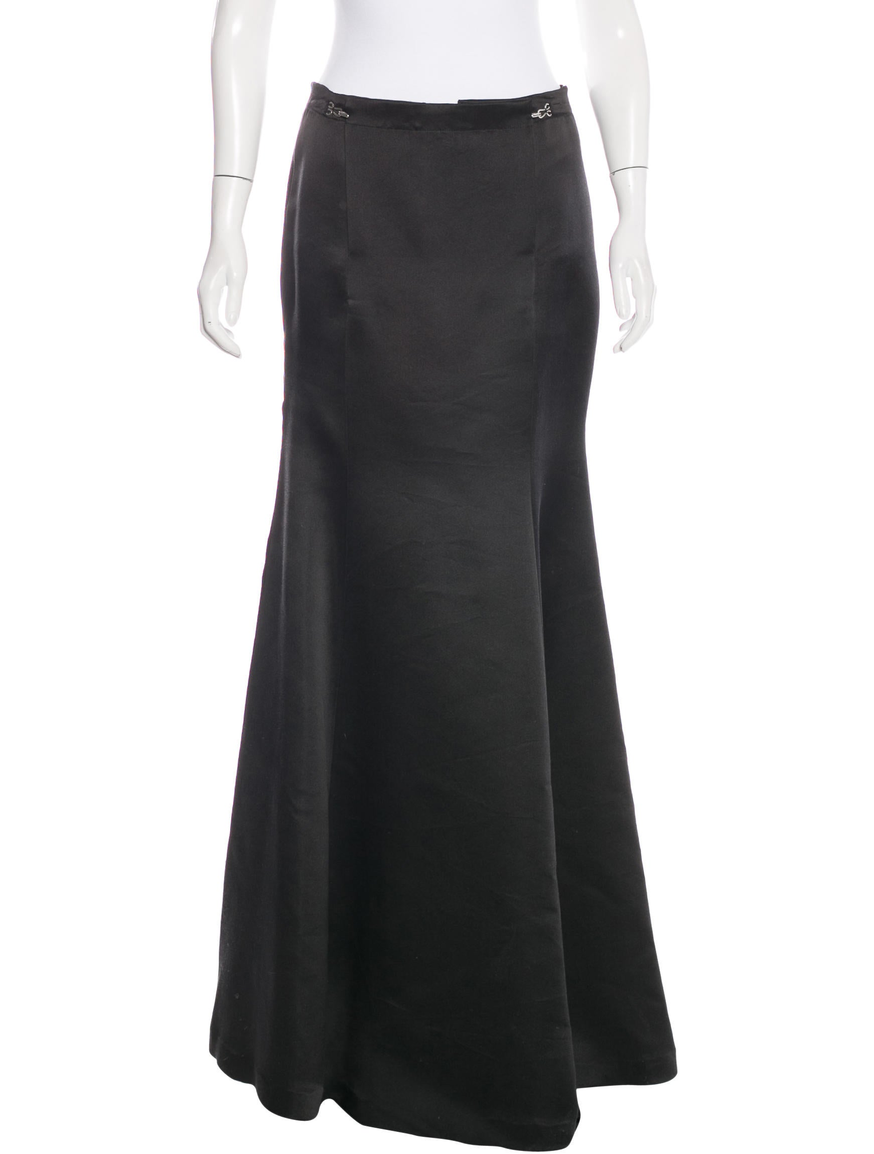 lanvin a line maxi skirt clothing lan54810 the realreal