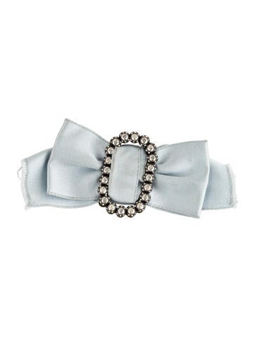 Courtney Crystal Ribbon Bow Brooch