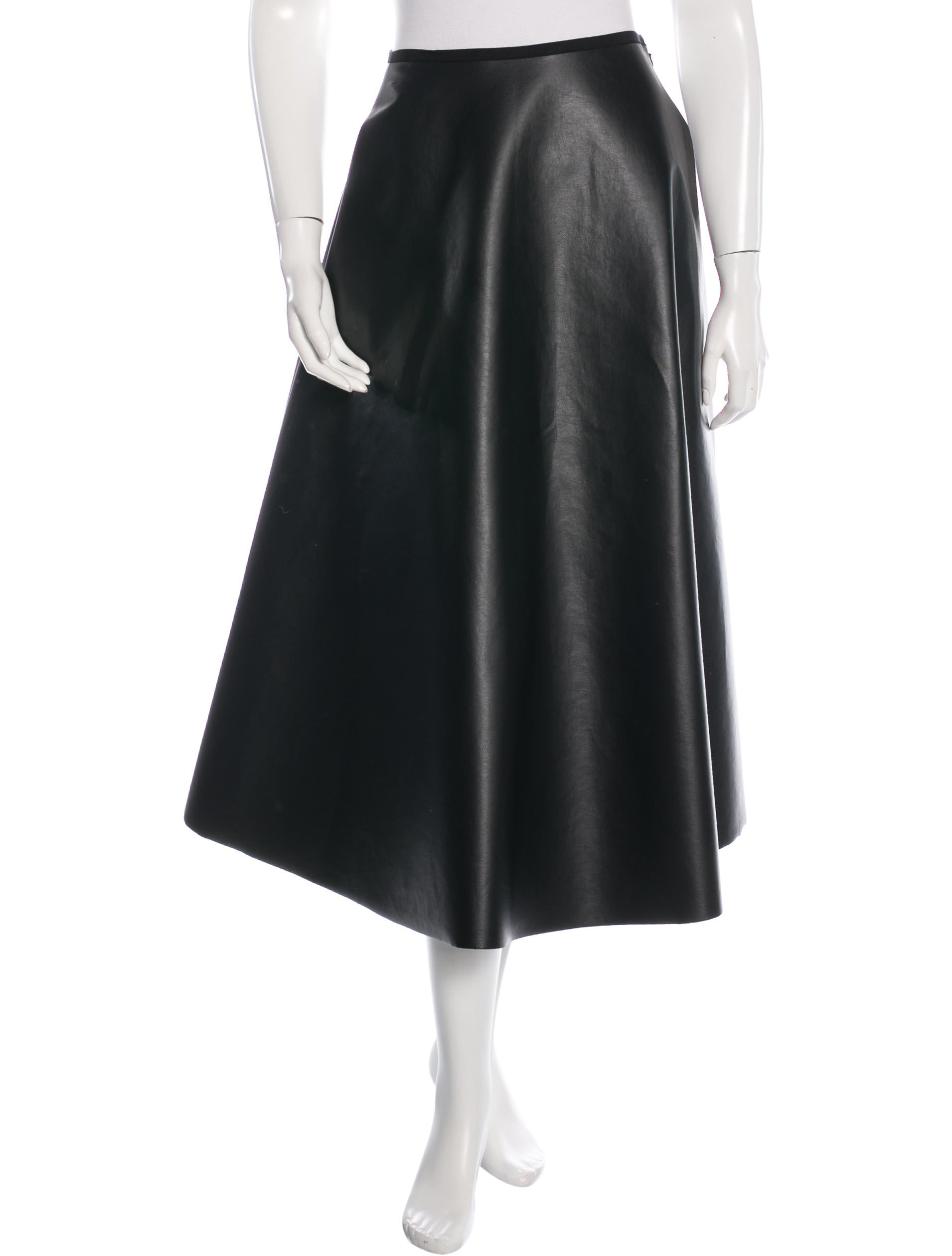 lanvin a line midi skirt clothing lan55255 the realreal