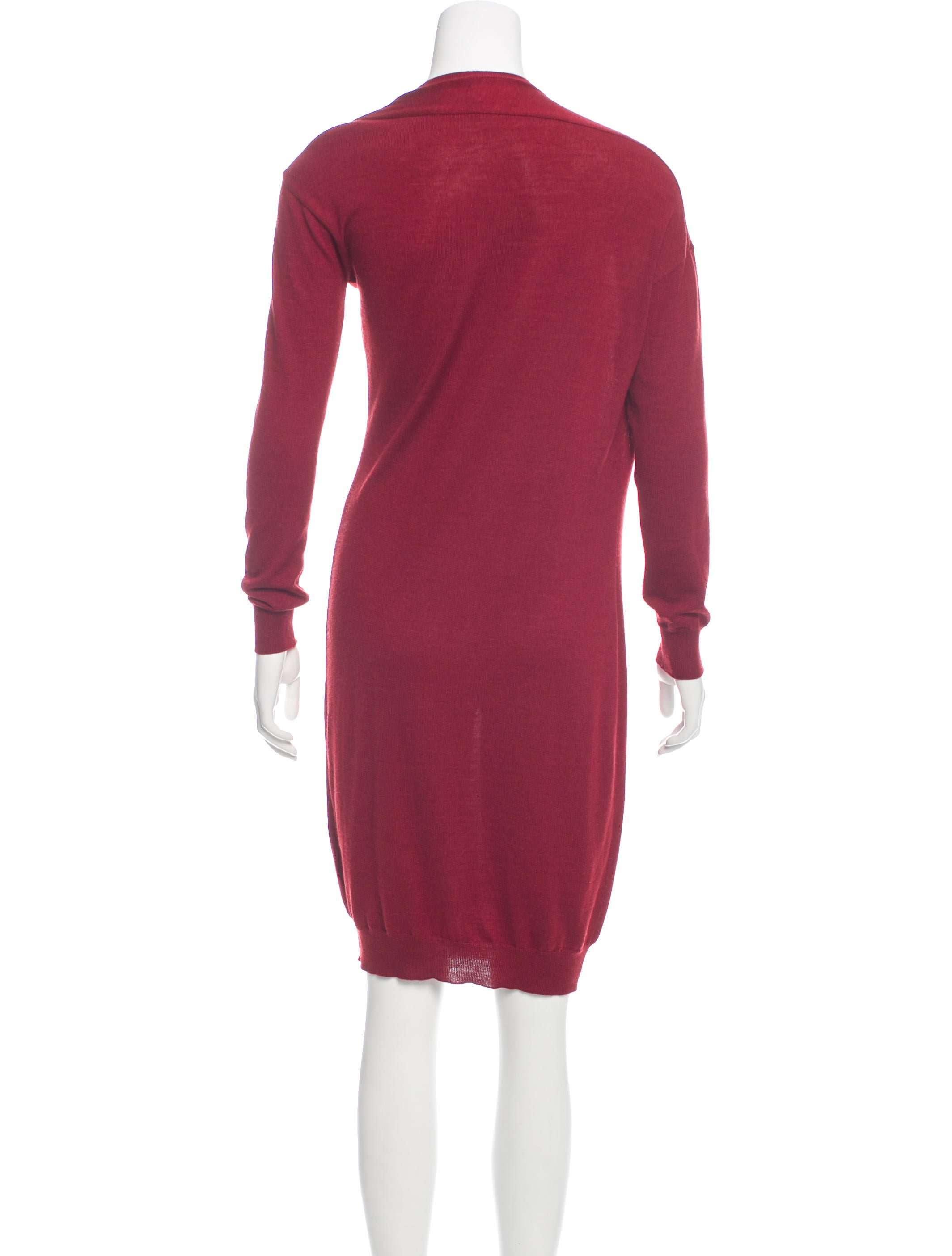 lanvin wool blend sweater dress clothing