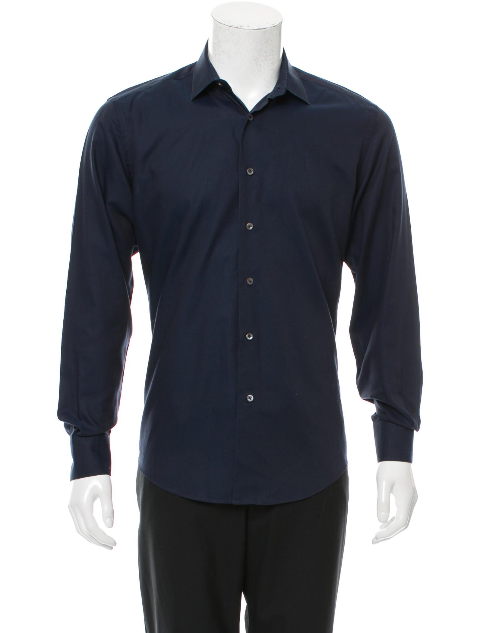 Lanvin Long Sleeve Button Up Shirt Clothing Lan56985