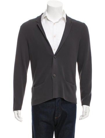 Lanvin Open Knit Button-Up Cardigan None