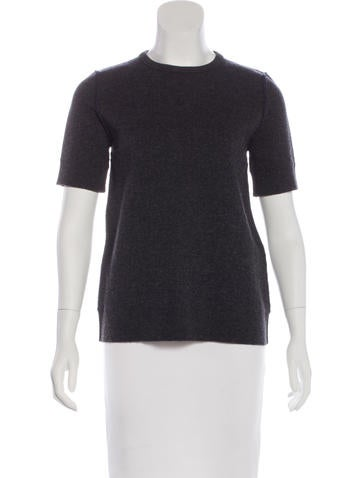 Lanvin Wool & Cashmere-Blend Top None