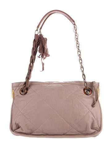 Lanvin Amalia Quilted Leather Shoulder Bag