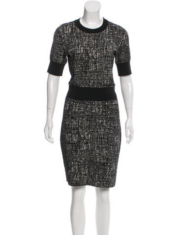 Lanvin 2015 Short Sleeve Knit Dress None