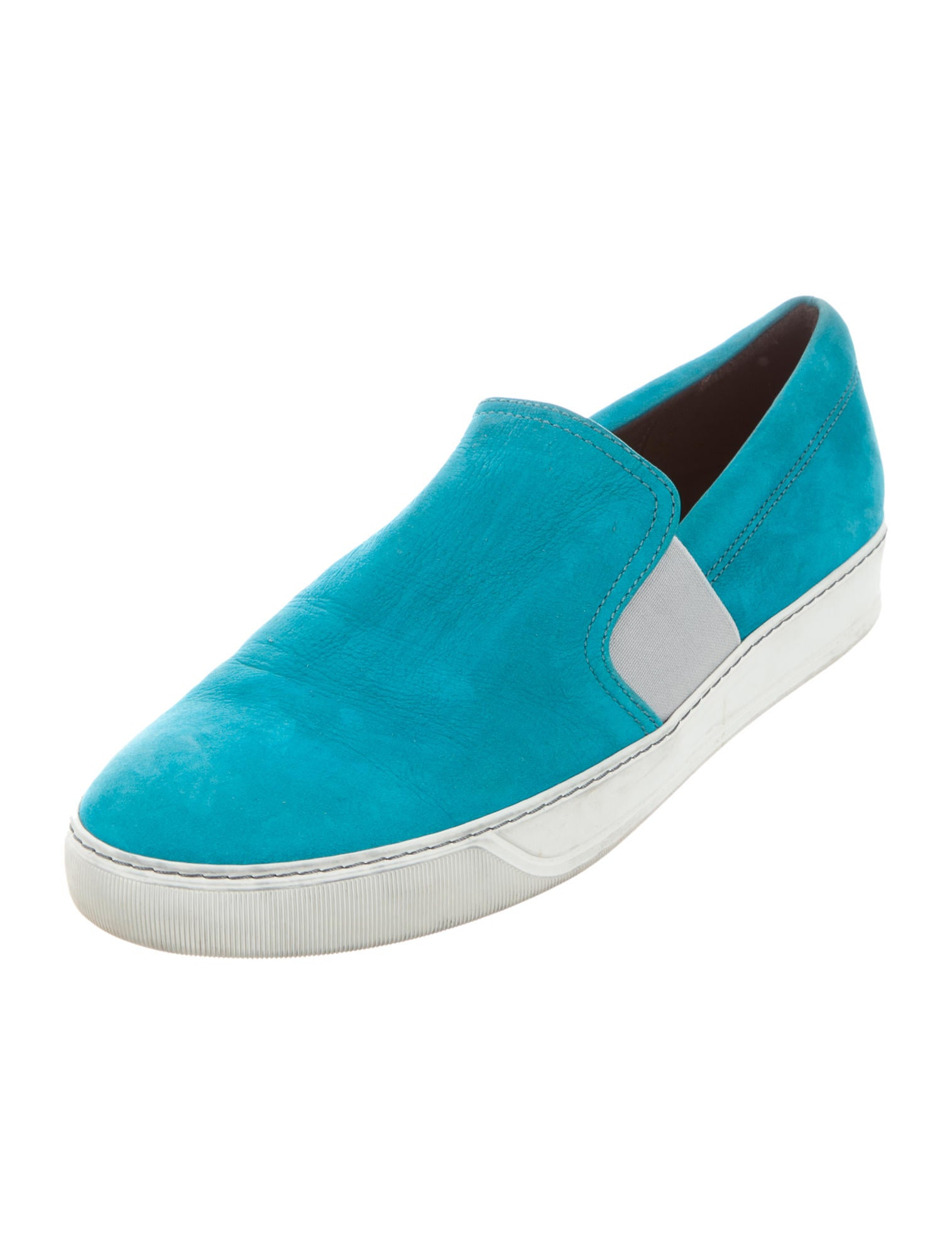 lanvin suede slip on sneakers shoes lan60106 the