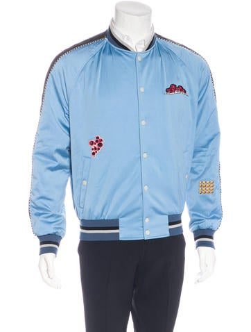 Lanvin Embroidered Satin Jacket None