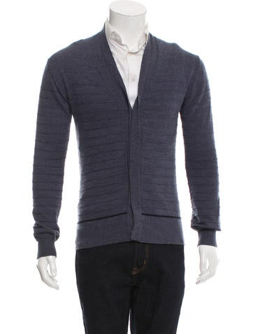 Lanvin Knit V-Neck Cardigan None