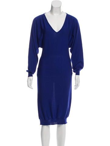 Lanvin Wool Sweater Dress None