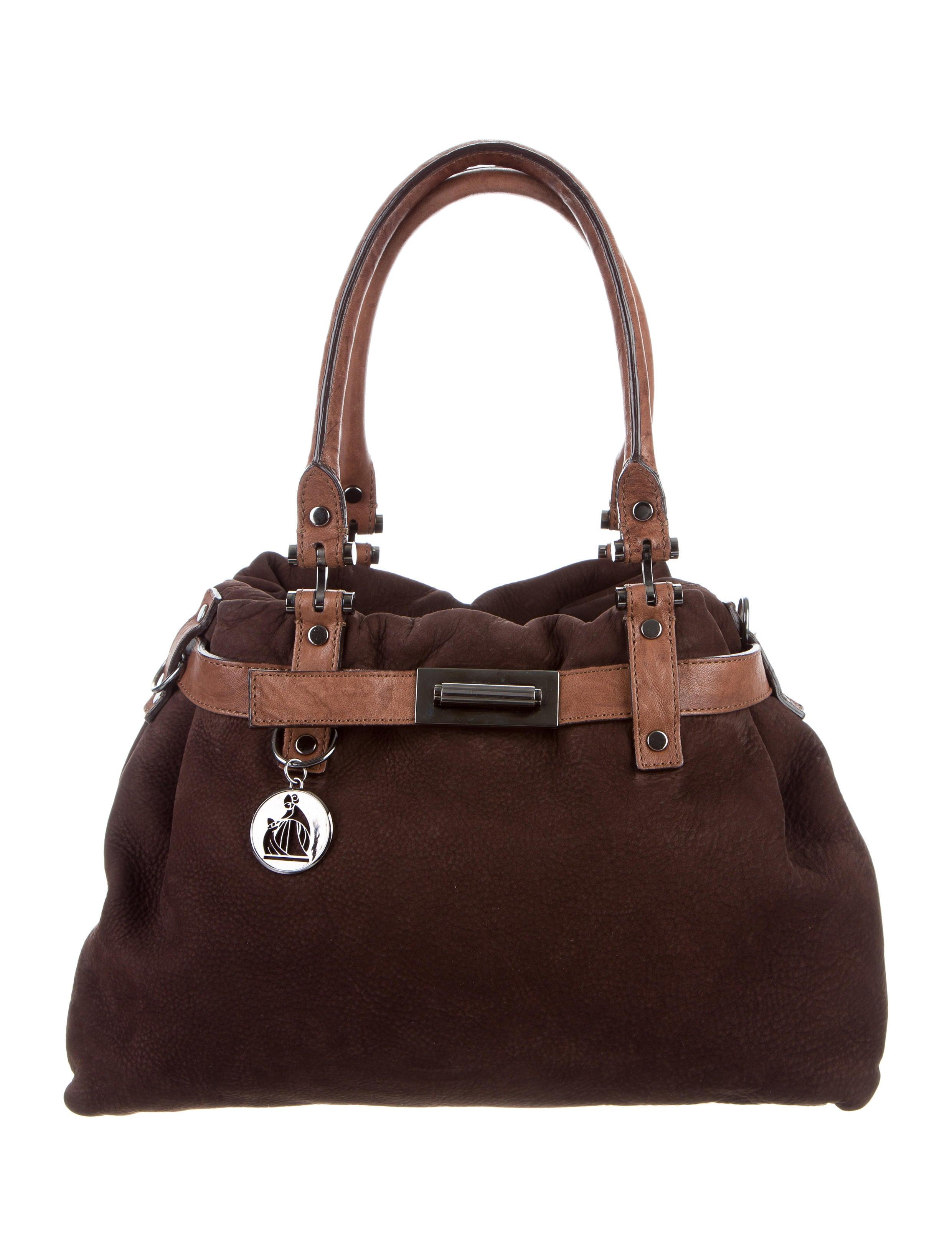 Lanvin Leather Kentucky Satchel Handbags LAN61648  : LAN616481enlarged from www.therealreal.com size 2481 x 3273 jpeg 440kB