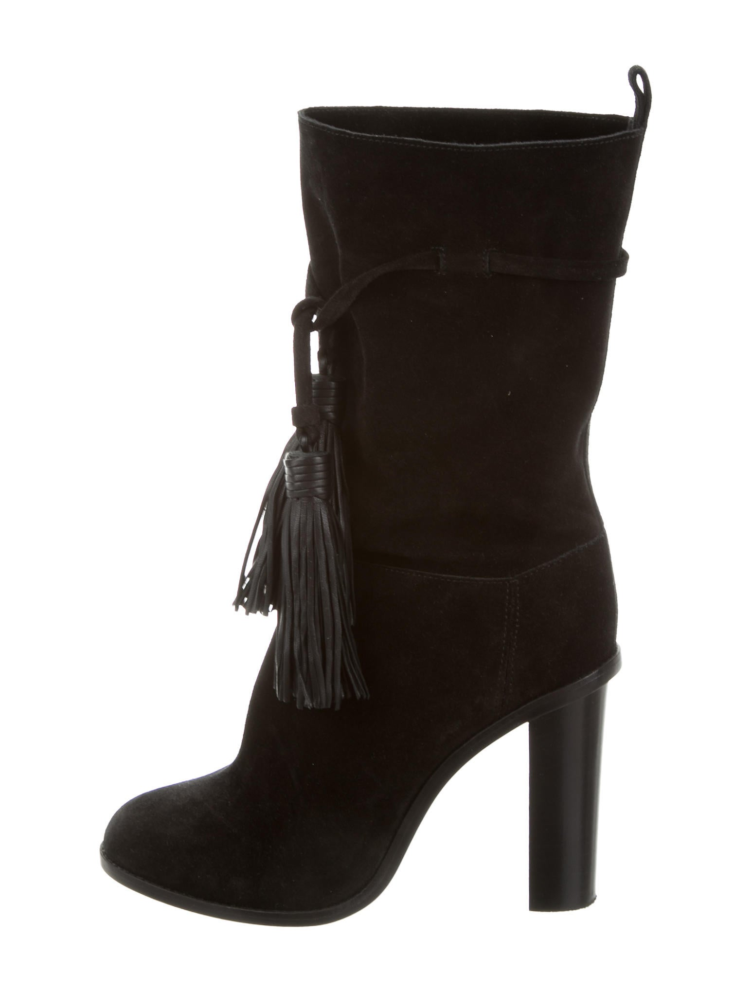 lanvin suede ankle boots shoes lan62188 the realreal
