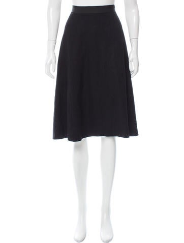 Lanvin Wool Knee-Length Skirt None